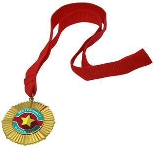 Trofee met foto in het goud, met tekst of logo!