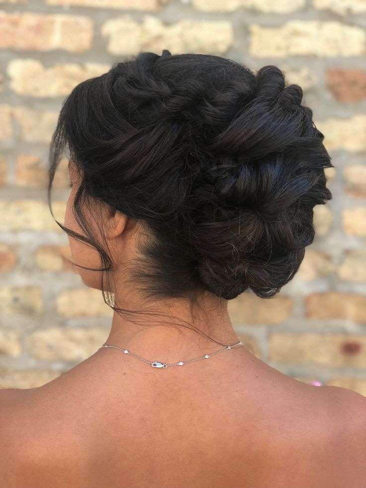 Beautiful Curly Updo Hairstyle By Goldplaited Wedding