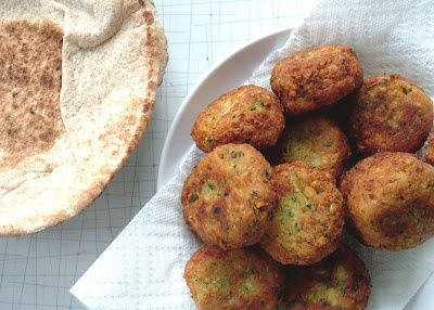 Falafel. I love this in a pita sandwich with tomatoes, cucumbers ...