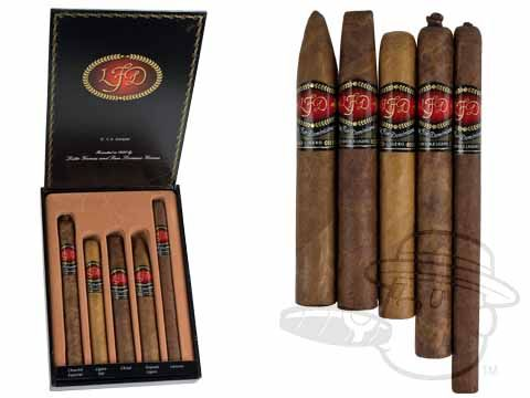 La Flor Dominicana O.Y.A. Sampler Various Sized Cigars—Sealed Pack of 5 - Best Cigar Prices