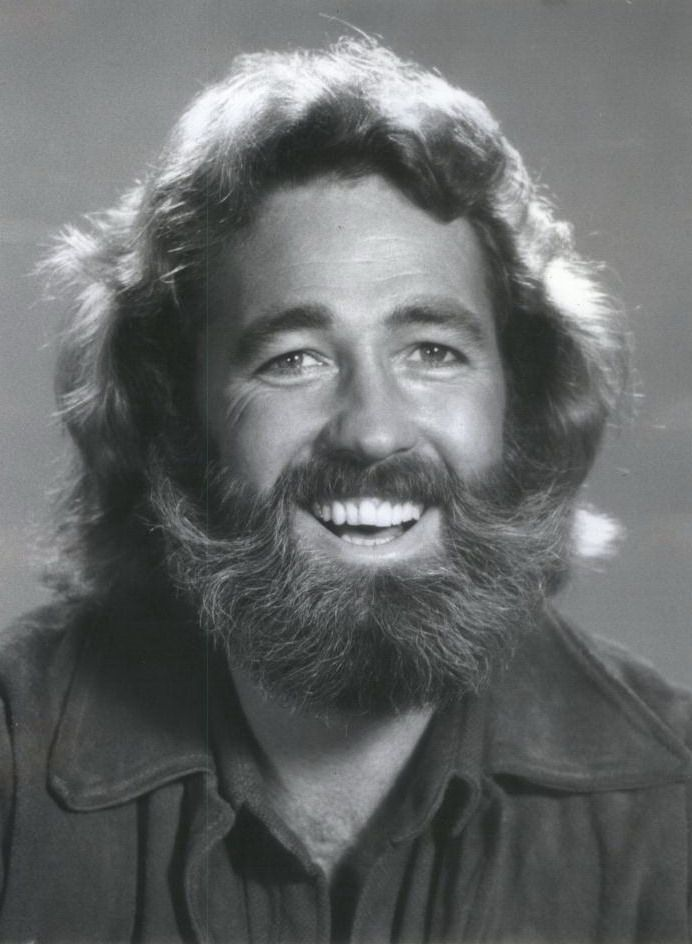 "Dan Haggerty, American actor, best known for starring as James ""Grizzly"" Adams in ""The Life and Times of Grizzly Adams"" television series that aired from 1977-78, for two seasons and 37 episodes. The series was about an 1850's mountain man who befriends Ben the Bear, a Native-American and a fur trader. He helped people in trouble and protected the wildlife. The series was filmed on location in the mountains near Ruidoso, New Mexico, and featured beautiful scenery."