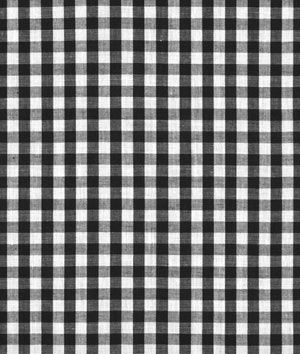 "Shop 1/4"" Black and white Gingham Fabric at onlinefabricstore.net for $3.75/ Yard. Best Price & Service."