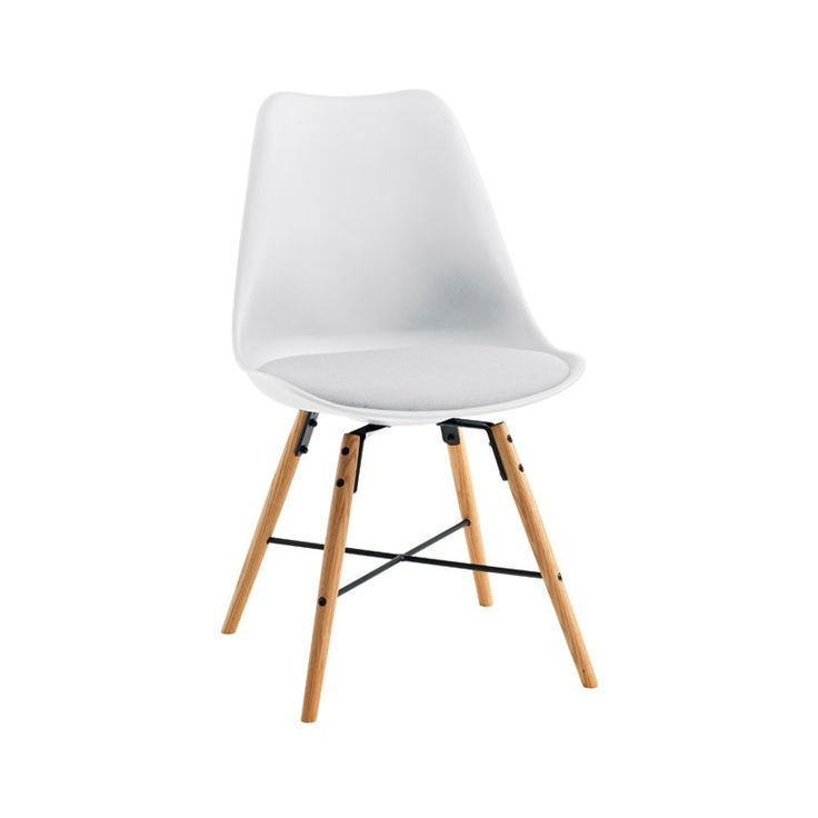 KLARUP Chair White 119 With Cushion