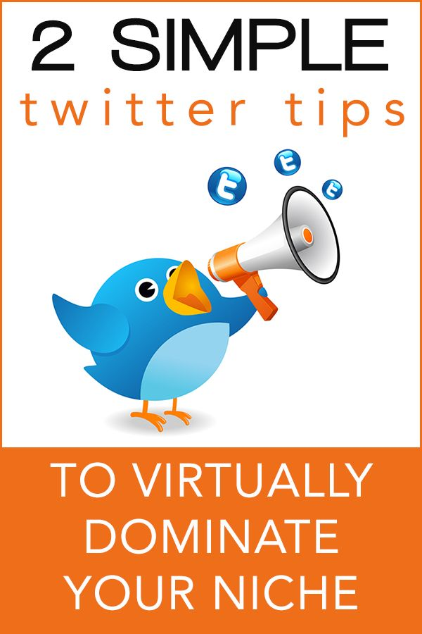 Two Twitter Tips to Virtually Dominate Your Niche by @Rebekah Radice