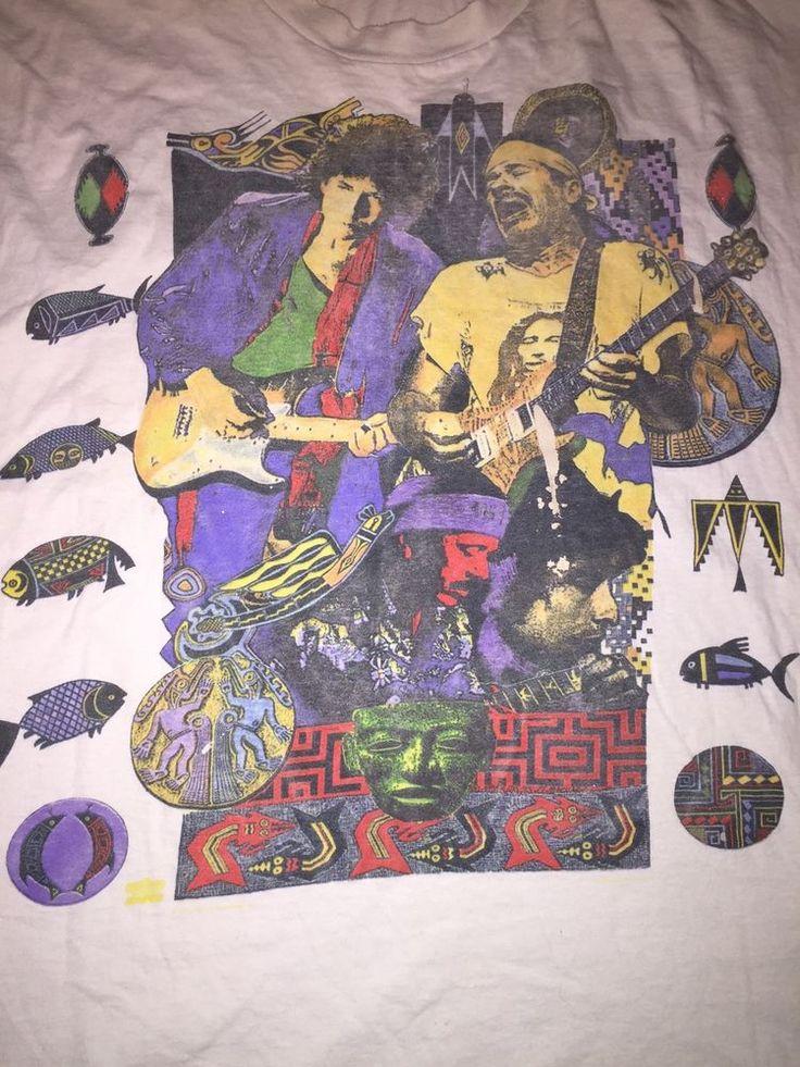 VTG 1993 Bob Dylan Santana Tour sleeveless tshirt size XL
