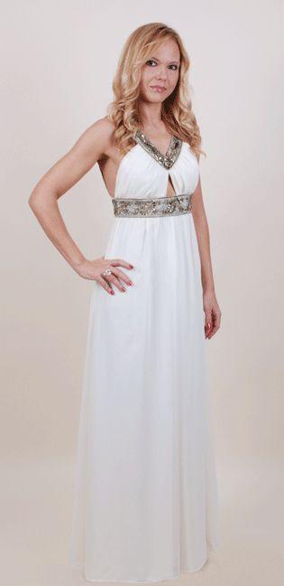 Сказочное платье, выполненное в греческом стиле