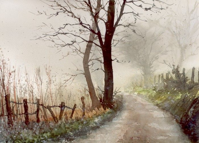 Dry Fog Painting : Best images about watercolor painting and ideas on