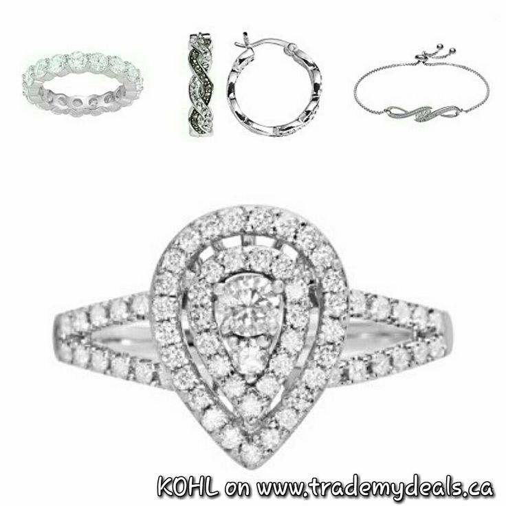 74 best women images on pinterest iphone for Kohls fine jewelry coupon