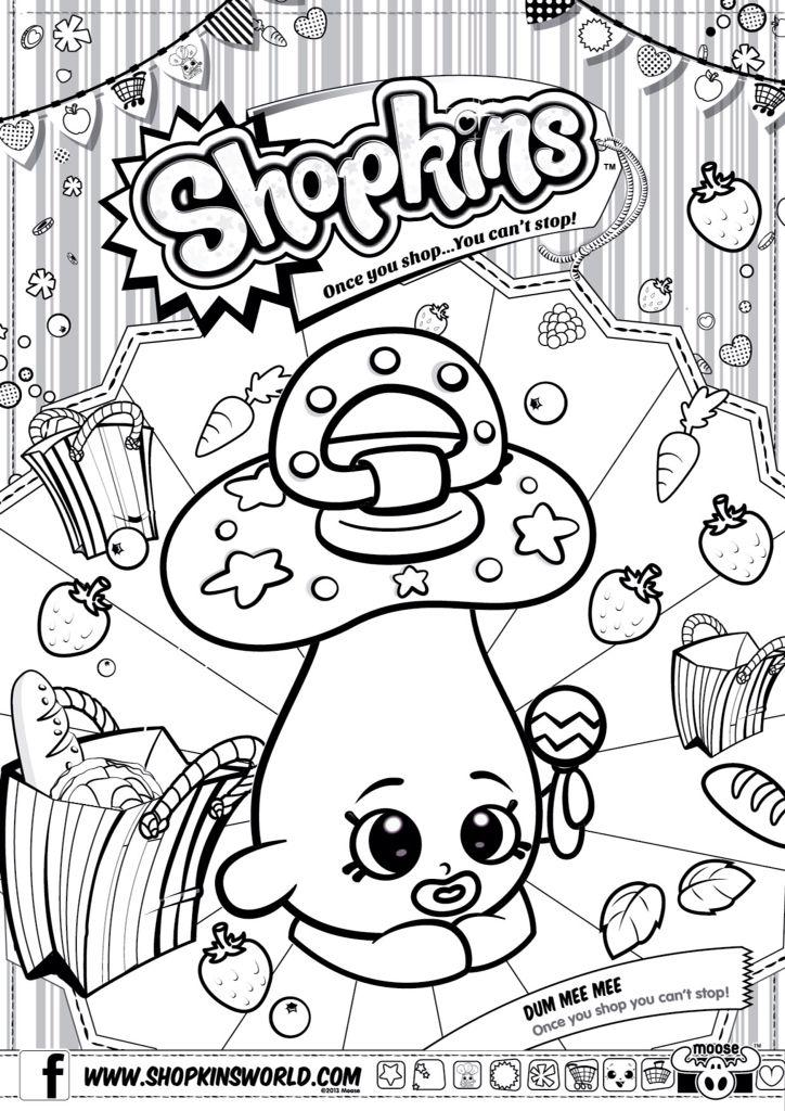 shopkins colour color page dum mee mee shopkinsworld - Color Printouts