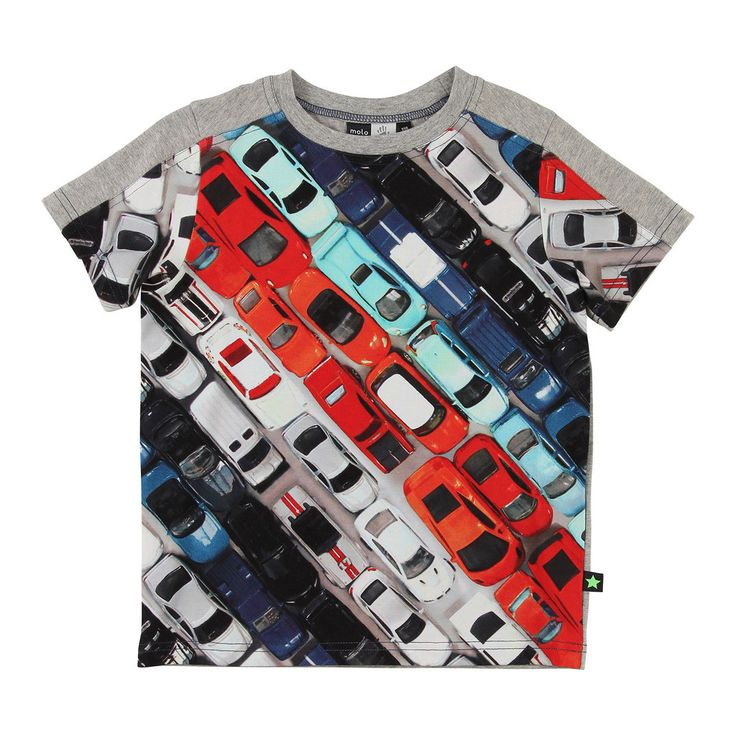 Molo Rishi Toy Cars T-shirt