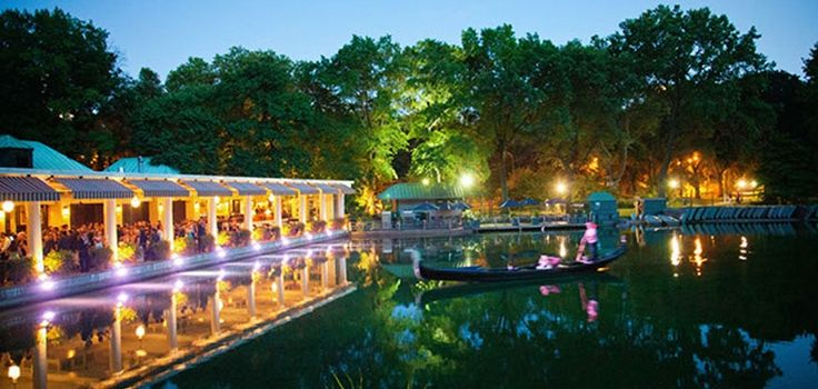 Loeb Boathouse - Central Park  Al Fresco Wedding Celebration Magical on summer's eve!