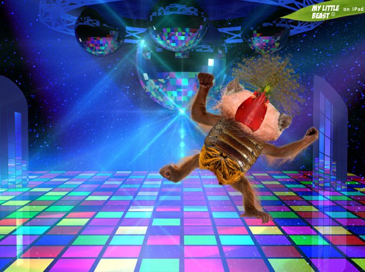 Dance like a beast! It's Friday! Created with the awesome My Little Beast app. Download here: LITE: https://itunes.apple.com/app/id824876886 FULL: https://itunes.apple.com/app/id815685056  #games, #ipad, #kids, #animals