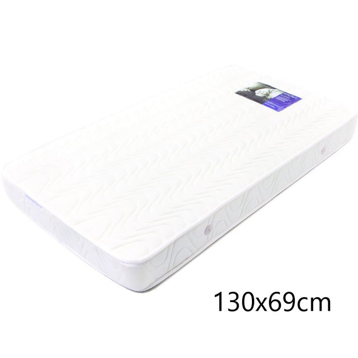 Double Quilted Innerspring Cot Mattress 130x69cm | Buy Cot Mattresses