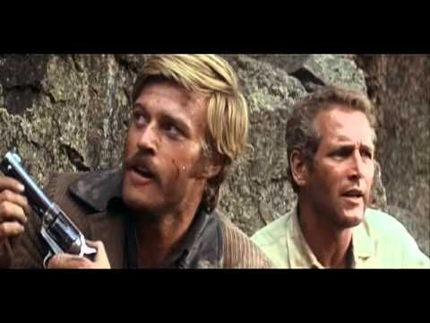 "Butch Cassidy & The Sundance Kid / ""I Can't Swim!"" - One of my favorite movie scenes. The up & down glare that Redford gives Newman after he screams, ""I can't swim!"", cracks me up every time!"