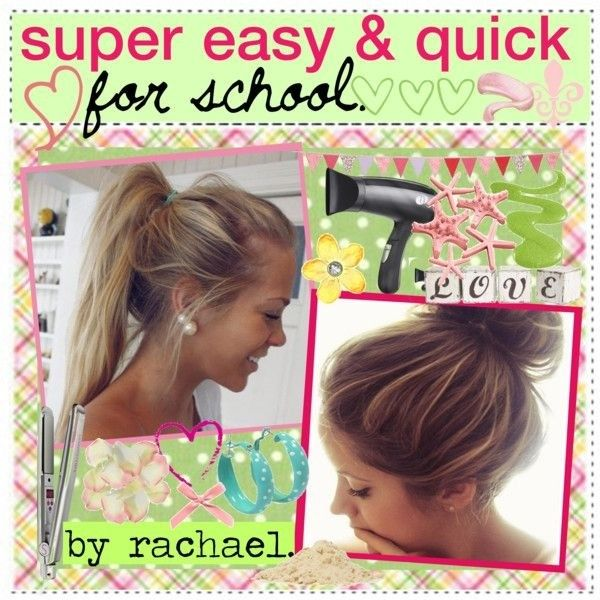 23 Beautiful Hairstyles for School