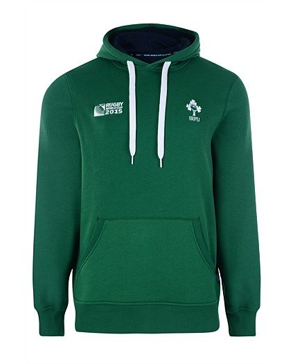 Rugby World Cup 2015 IRELAND country collection - IRFU Supporter Hoody