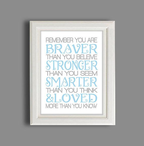 37 best nursery pooh theme images on pinterest nursery ideas winnie the pooh nursery art nursery decor kids poster pooh bear nursery quote gift for new baby baby shower gift negle Images