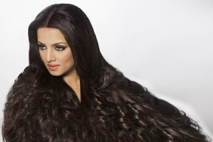 Celina Jaitley #beautiful #Hair #HairLoss #Haircare #Hairtips #Smooth #Volume #shiny