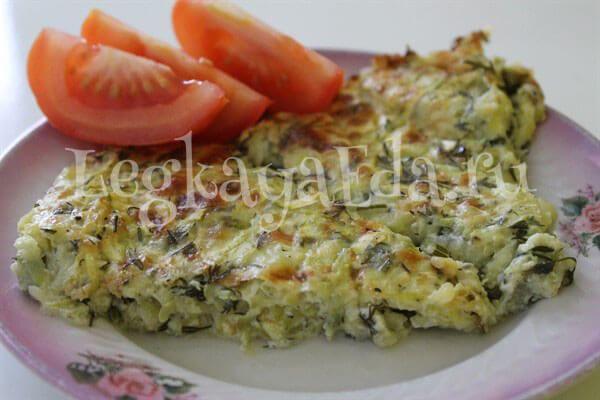 Как приготовить запеканку из кабачков? Вкусная и быстрая кабачковая запеканка с сыром