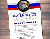 EDITABLE Eagle Scout Court of Honor Invitation, Boy Scout Invitation, DIY Digital Invite, Court of Honor Announcement, Eagle Scout Printable
