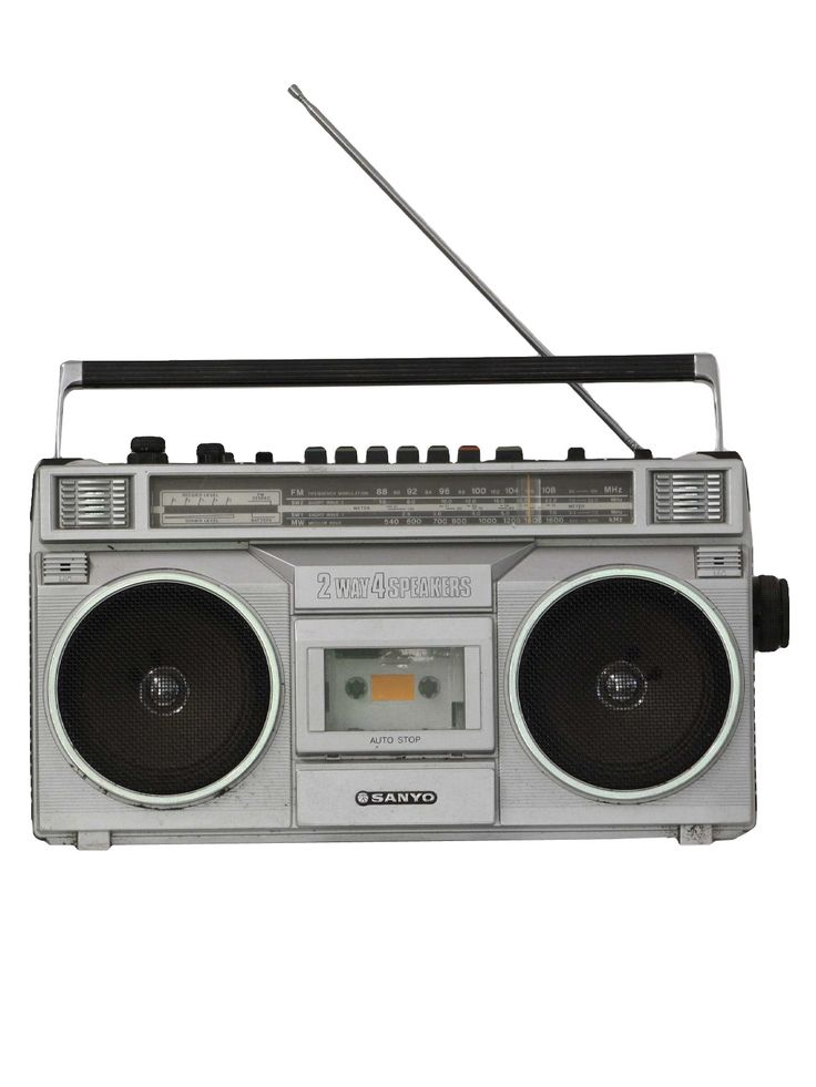 the boom box (but I always called it the ghetto blaster).  Mine looked just like this!!!