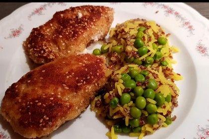 Gefüllte Puten-Minutensteaks mit buntem Reis von SteUd | [Chefkoch.de|http://chefkoch.de/]