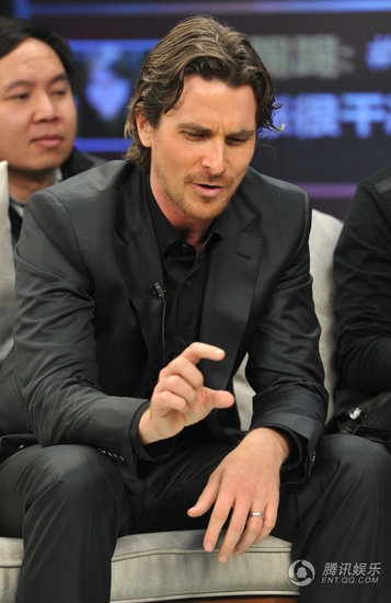 Christian Bale......hell no, I'm sure it's not that small :-)