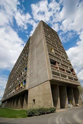 Le Corbusier, maison radieuse