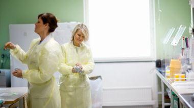 Biomedicinska analytiker, KS 2011. Foto: Ulf Huett.