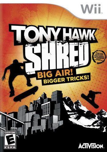 Tony Hawk: Shred (Wii)