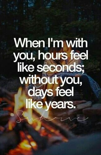 I wish I could stop time when I'm with you... the worst feeling in the world is taking you back to your house and watching you walk away from me... you are very special to me... My whole world.. My partner.. My companion.. My best friend ever!!! You are my soul mate and one true love!!!