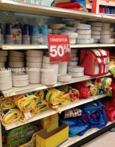 Target 50% off Summer Clearance Sale Includes: Paper Plates, Beach Towels, Toys + More!