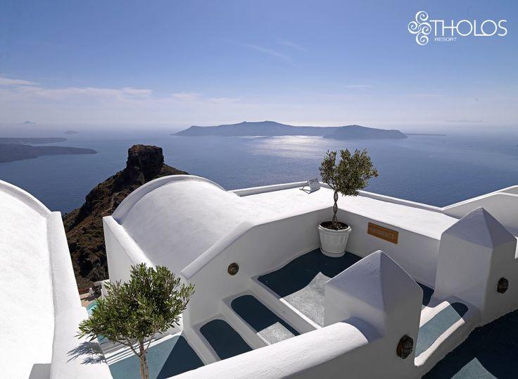 Santorini magic! More at tholosresort.gr