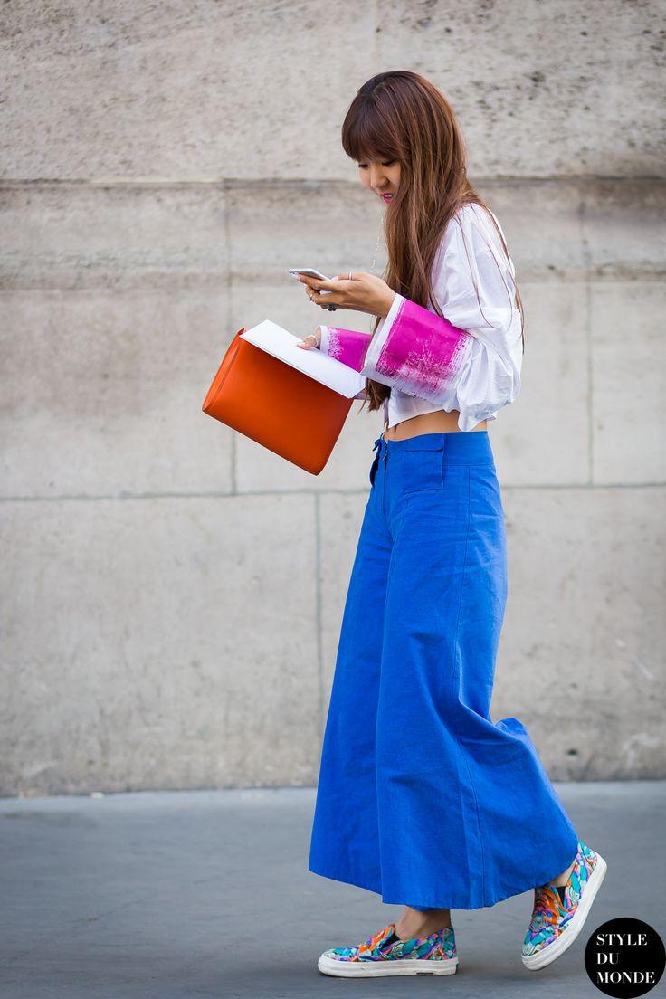 Paris Men S Fashion Week Spring 2016 Street Style Cho Seohyun