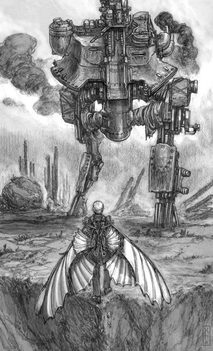 Art from Goliath, book 3 of the Leviathan series by Scott ...