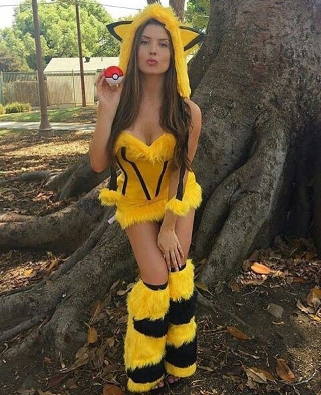 pikachu rave outfit