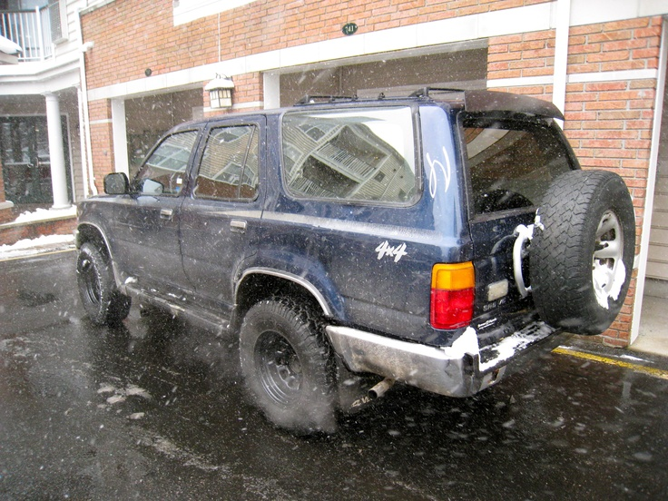 1990 Toyota 4Runner-My Beater 184K miles and going strong.