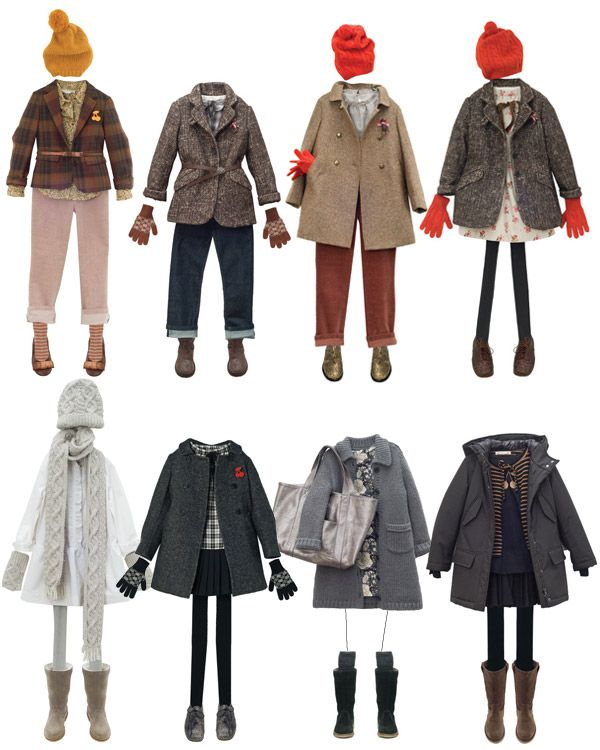 bonpoint winter clothes for girls