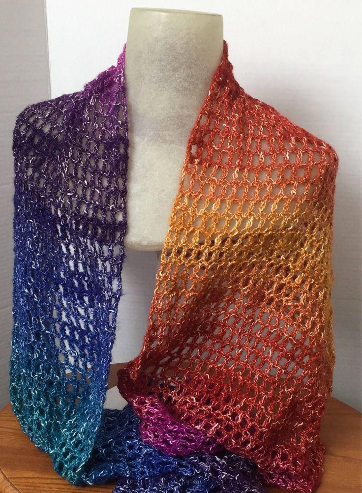 Crochet Shawl - Crochet Wrap - Rectangle Shawl - Rectangle Wrap - Handmade Crochet Shawl - Summer Shawl - Gift for Her