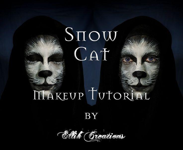 Snow Cat - Makeup Tutorial | Ellik Creations