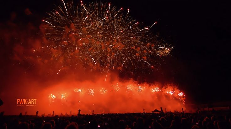 Dragon Fireworks - Hannover Feuerwerkswettbewerb 2015