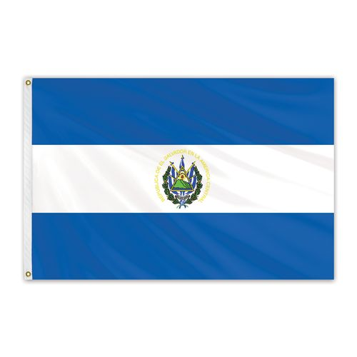 el salvador and usa flag