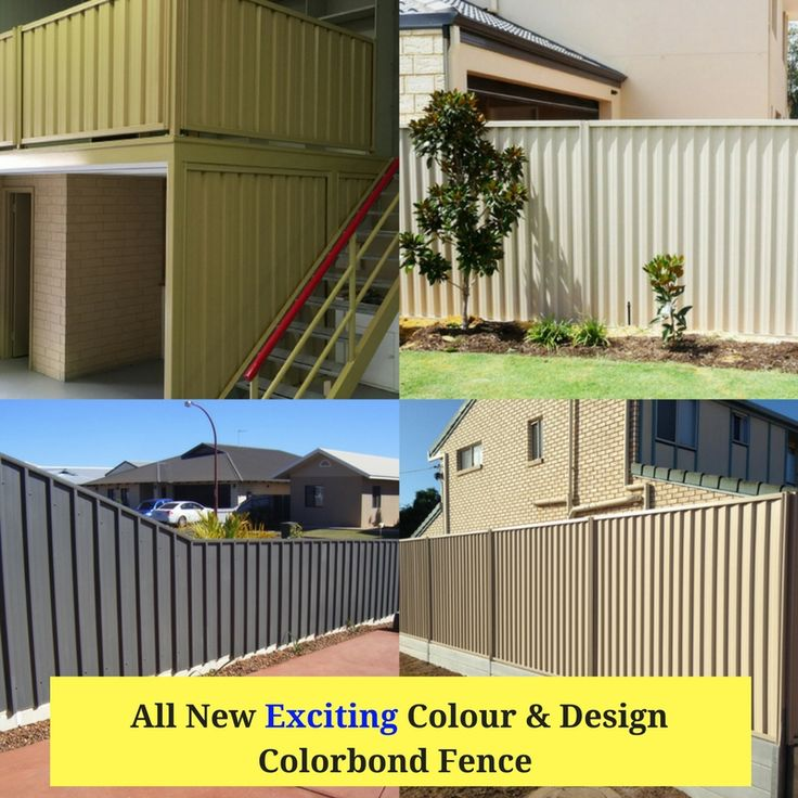 Let's have a look all new exciting colorbond fence and gates which is one of you