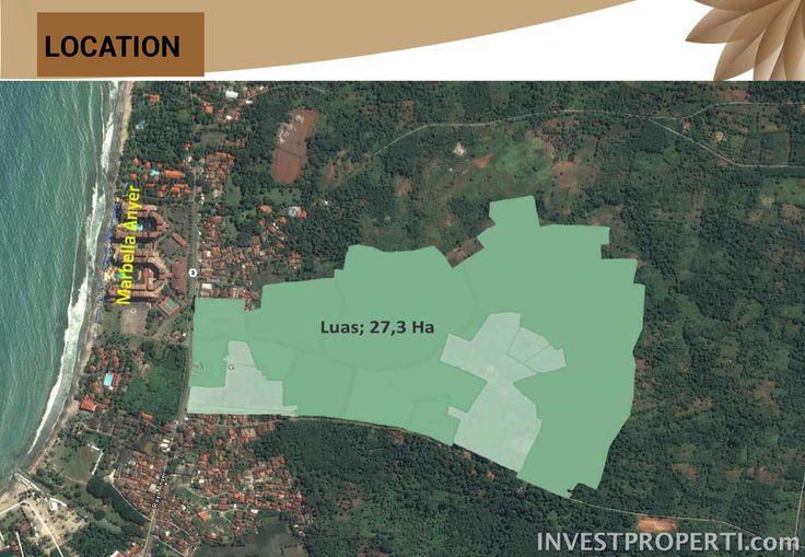 Luas area Villa Ubud Anyer.