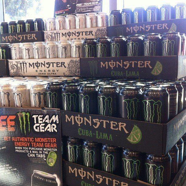 Monster Cuba-Lima and Zero Ultra Energy Drinks Pinterest Zero ...