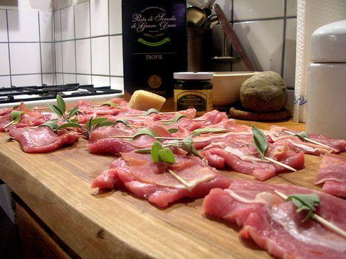 Saltimbocca alla romana – Kalfslapjes met salie en prosciutto