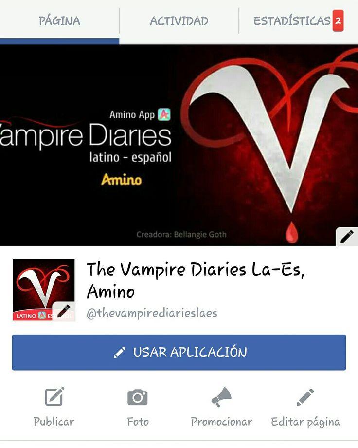 Página Oficial de Facebook: The Vampire Diaries LA-ES Comunidad Oficial de Amino  https://www.facebook.com/thevampirediarieslaes/
