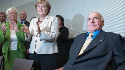 Helmut Kohl - auch für mich ein großer Europäer und deutscher Kanzler