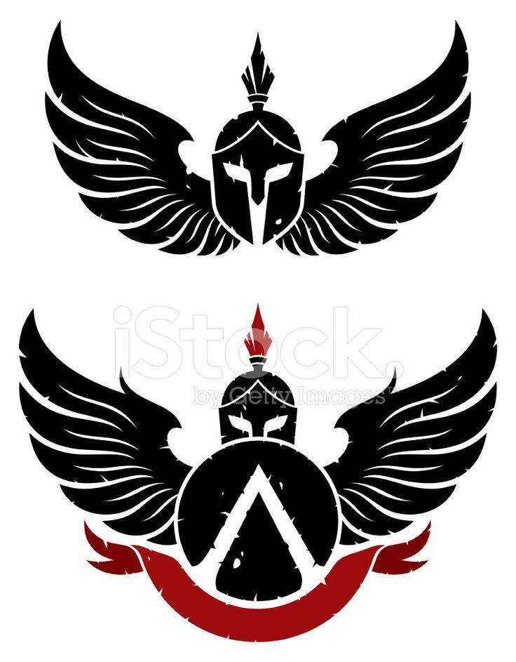 silueta guerrero espartano tattoo - Buscar con Google                                                                                                                                                      Mais