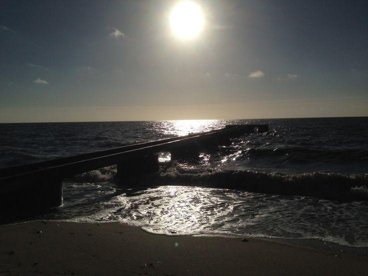 Stranden i Svarte i November